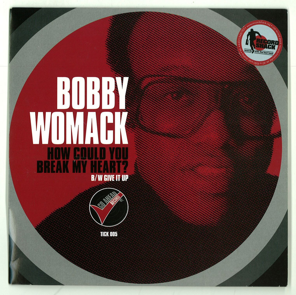 BOBBY WOMACK ... HOW COULD YOU BREAK MY HEART - YouTube