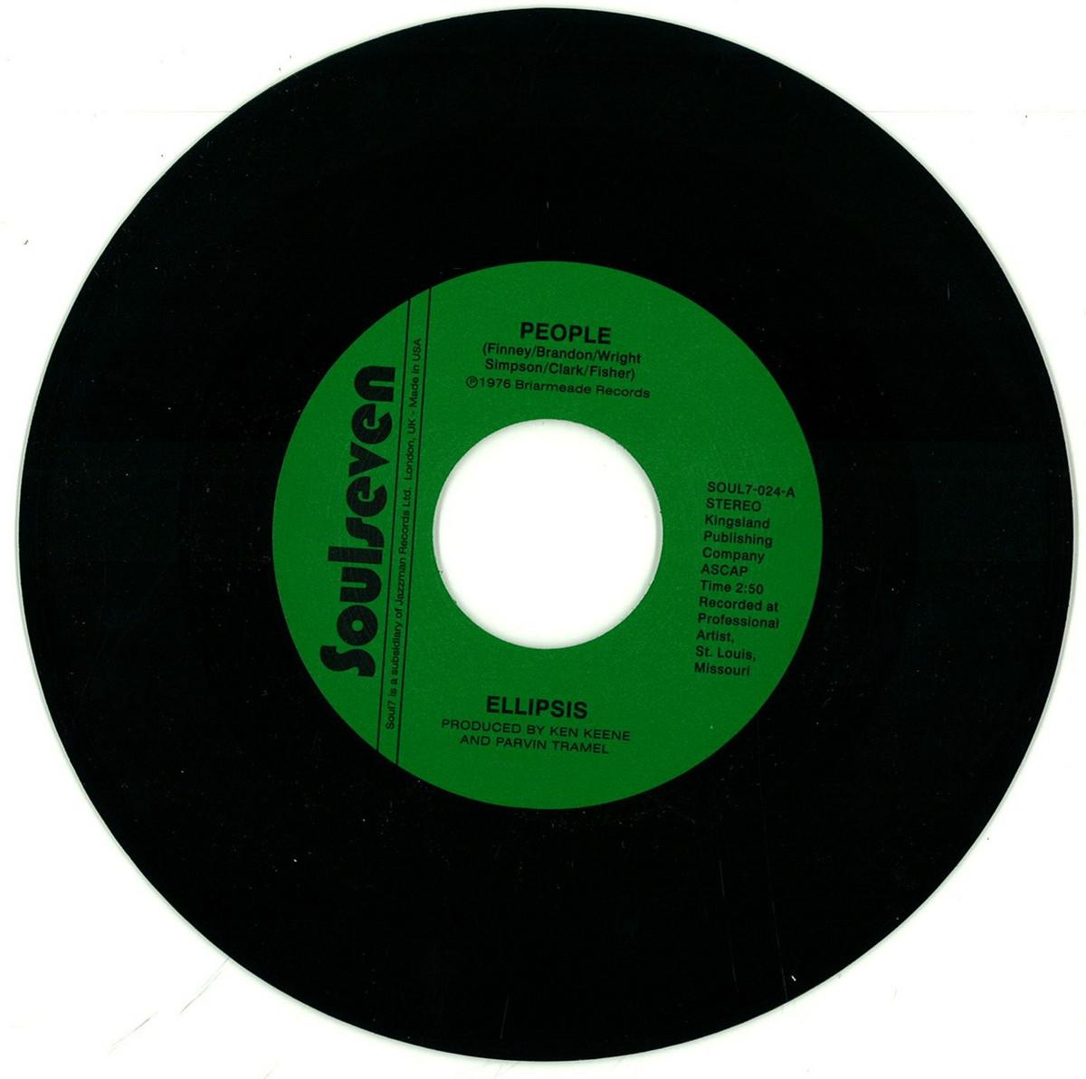 Ellipsis People Gregory Moore Soul7 Soul7 024 7 Quot Vinyl