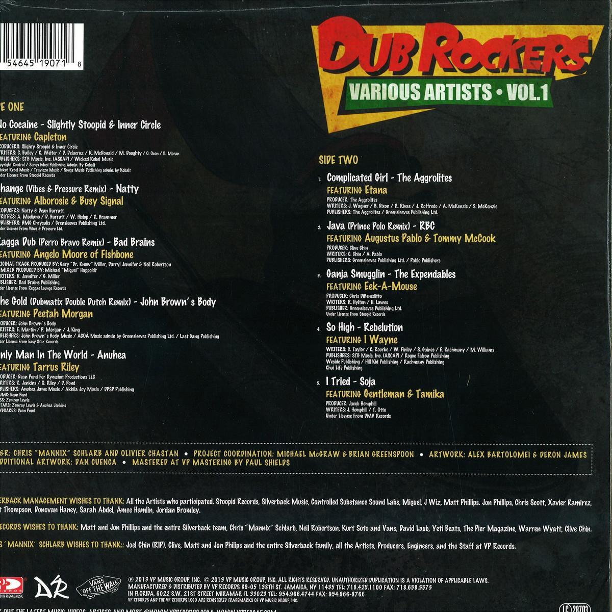 Dub Rockers - Vol 1 / VP Music Group Inc  VPRL1907 - Vinyl
