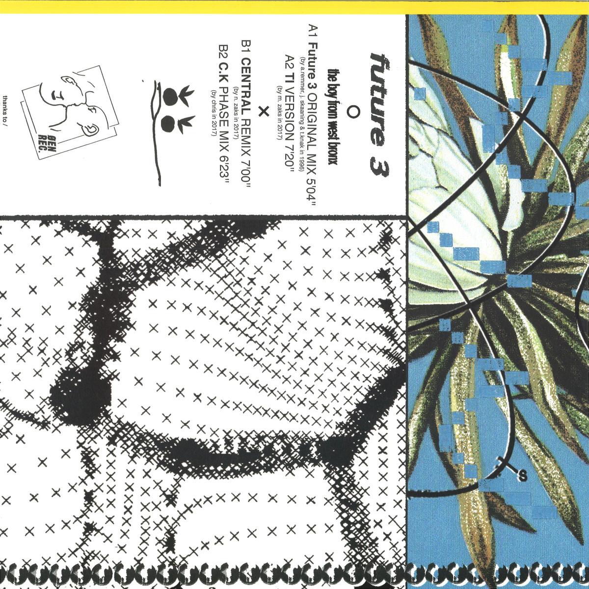 Future 3 - The Boy from West Bronx / ØEN Records OEN008 - Vinyl