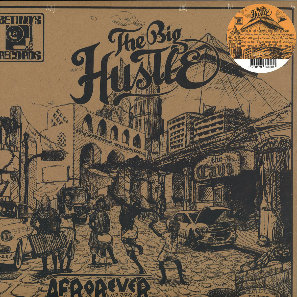 Enjoyable The Big Hustle Afrorever Betinos Records Br03Bet Vinyl Interior Design Ideas Oxytryabchikinfo