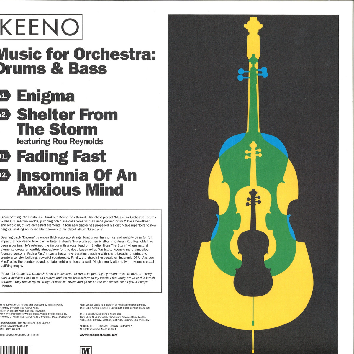 Keeno - Music For Orchestra: Drum & Bass / Med School