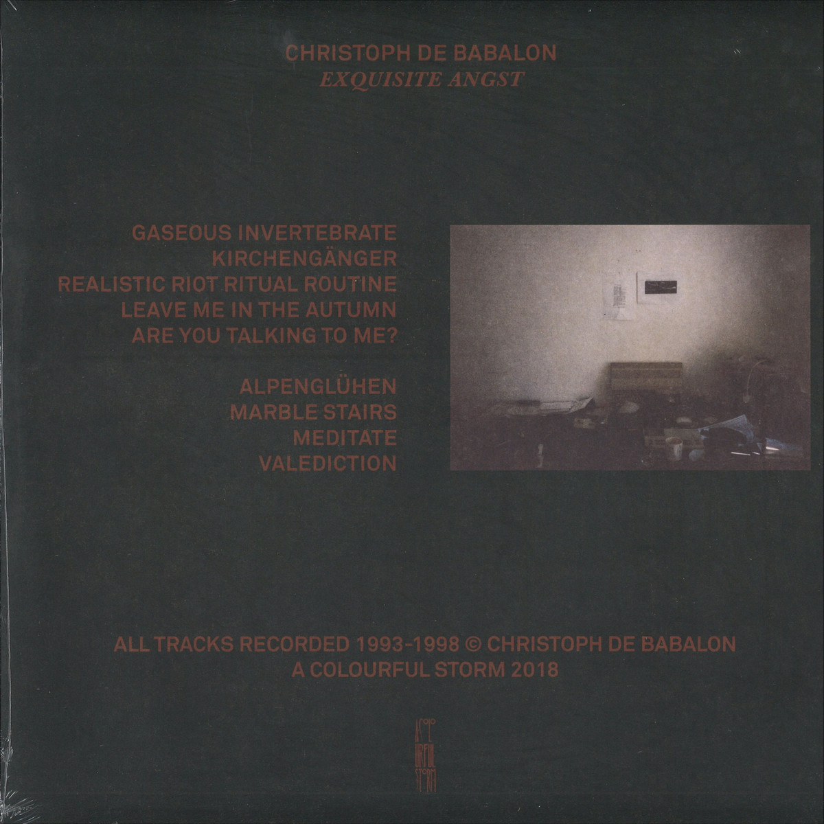 (Dark Ambient, Breakcore) [WEB] Christoph de Babalon