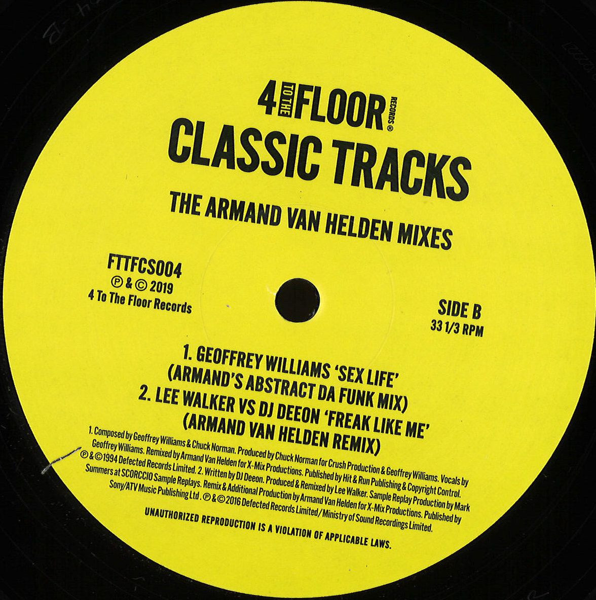 Various Artists - Classics Volume 3 – The Armand Van Helden Mixes