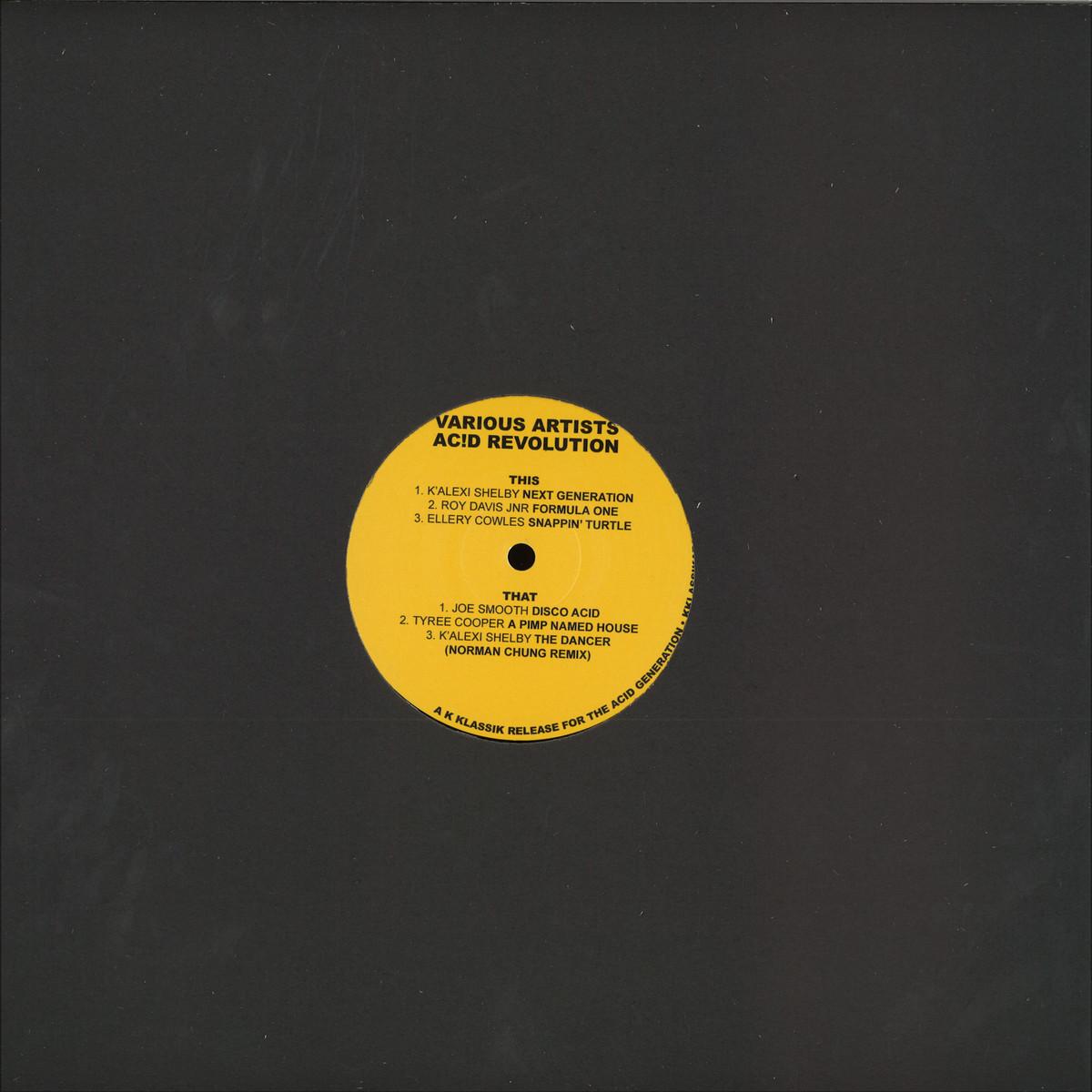 Various Artists - Ac!d Revolution / K KLASSIK KKLASSIKAR001 - Vinyl