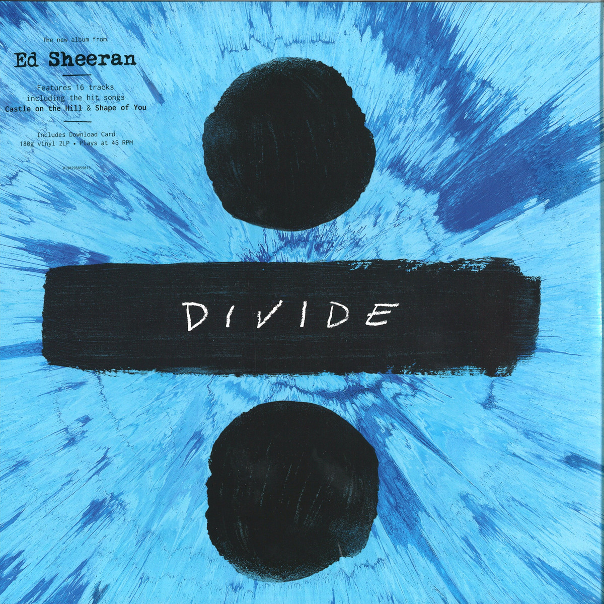 Ed Sheeran Divide Warner 0190295859015 Vinyl