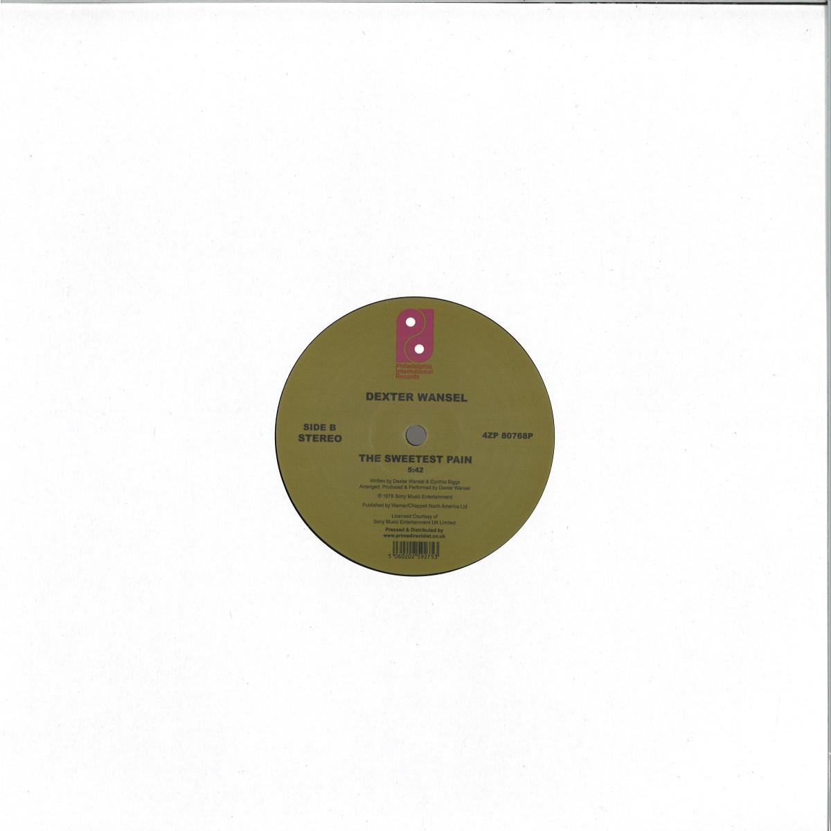 Dexter Wansel Life On Mars The Sweetest Pain Philadelphia International Rec 4zp80768p Vinyl
