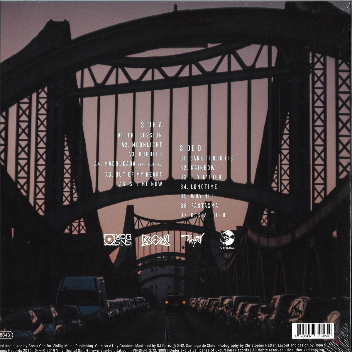 Brous One - Cityscapes / XQRSNS / VINYL DIGITAL XQN009 - Vinyl