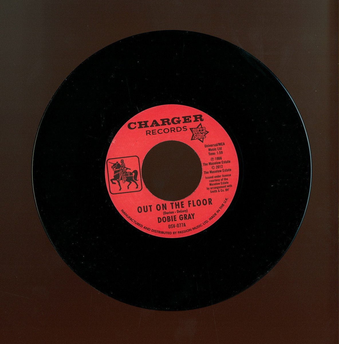 Dobie Gray Out On The Floor Outta Sight Osv077 Vinyl