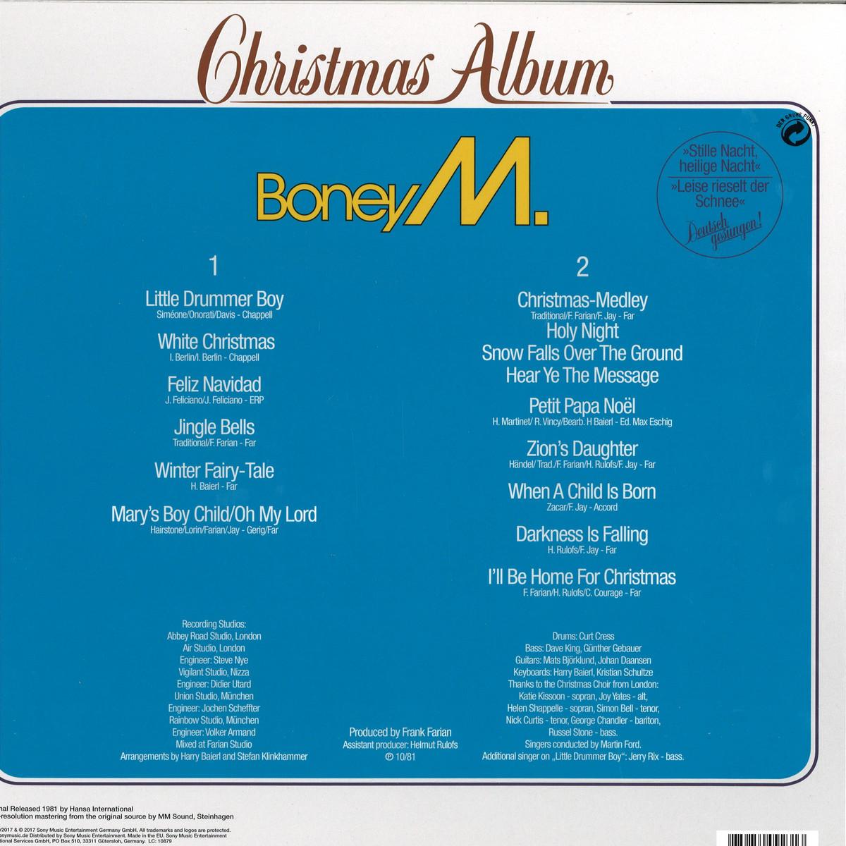 Boney M Christmas Album.Boney M