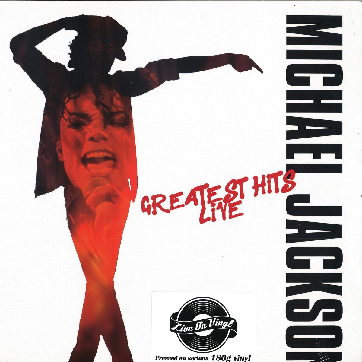 Michael Jackson - Greatest Hits - Live / Live On Vinyl LOVLP2034 - Vinyl