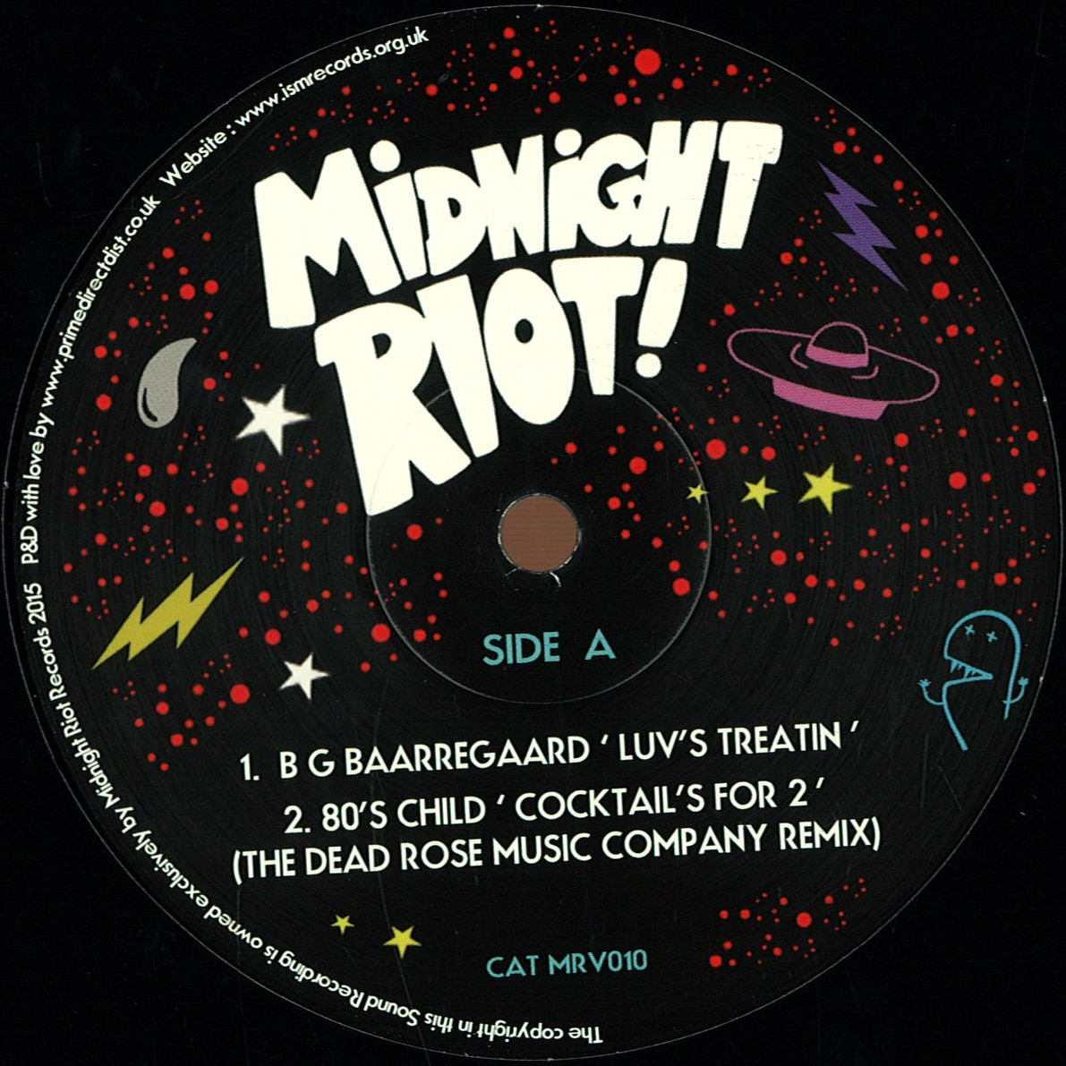 Various - Midnight Riot Vol.5 Sampler