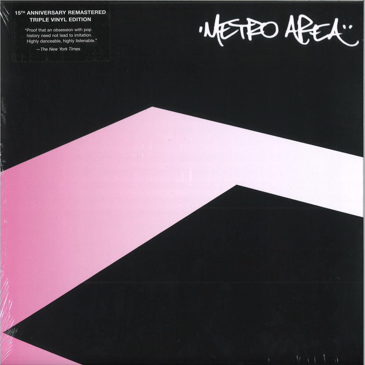 Metro Area - Metro Area 15th Anniversary Remastered 3xLP **Pre-order** (Environ)