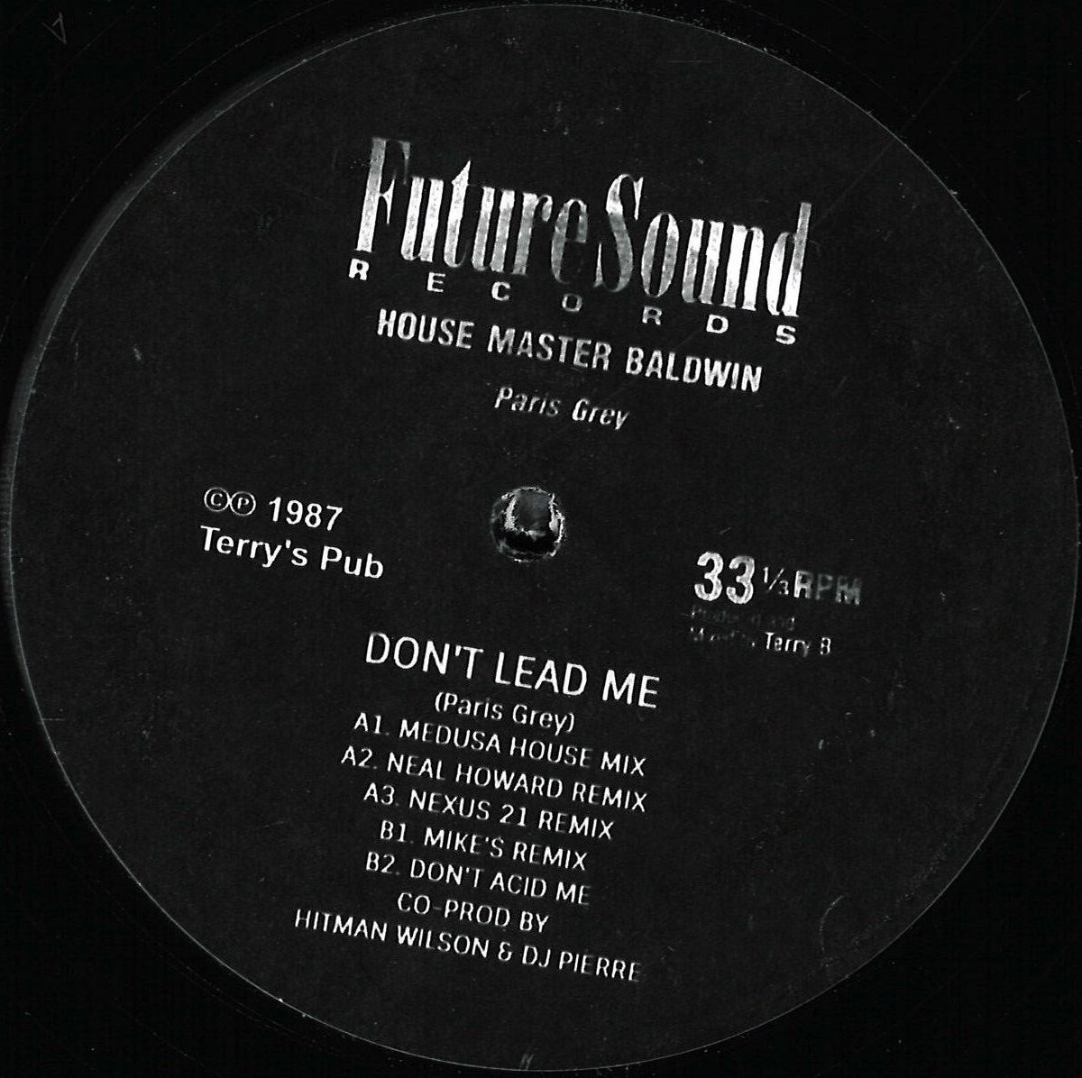 House Master Baldwin - Don't Lead Me 12