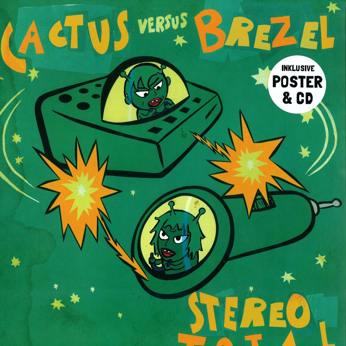 stereo total cactus vs brezel vinyl cd staatsakt akt732lp vinyl. Black Bedroom Furniture Sets. Home Design Ideas