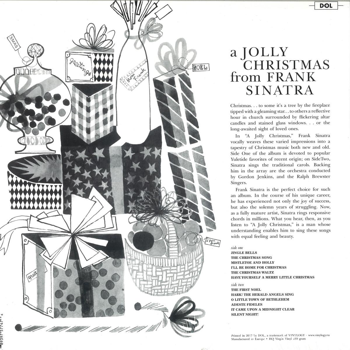 Frank Sinatra - A Jolly Christmas / DOL DOS747H - Vinyl