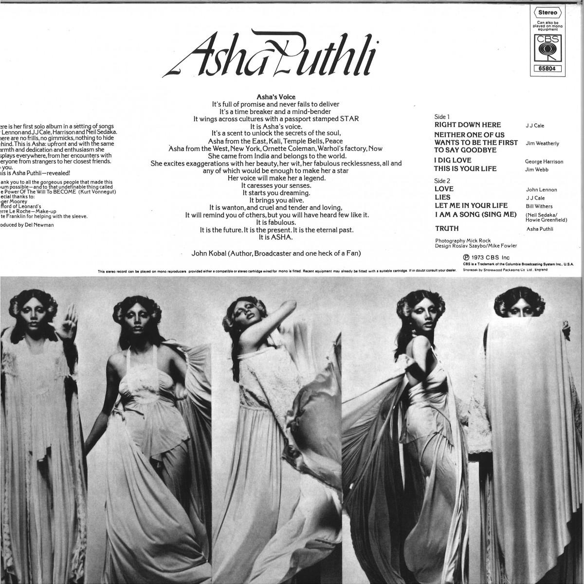 Asha Puthli — Asha Puthli