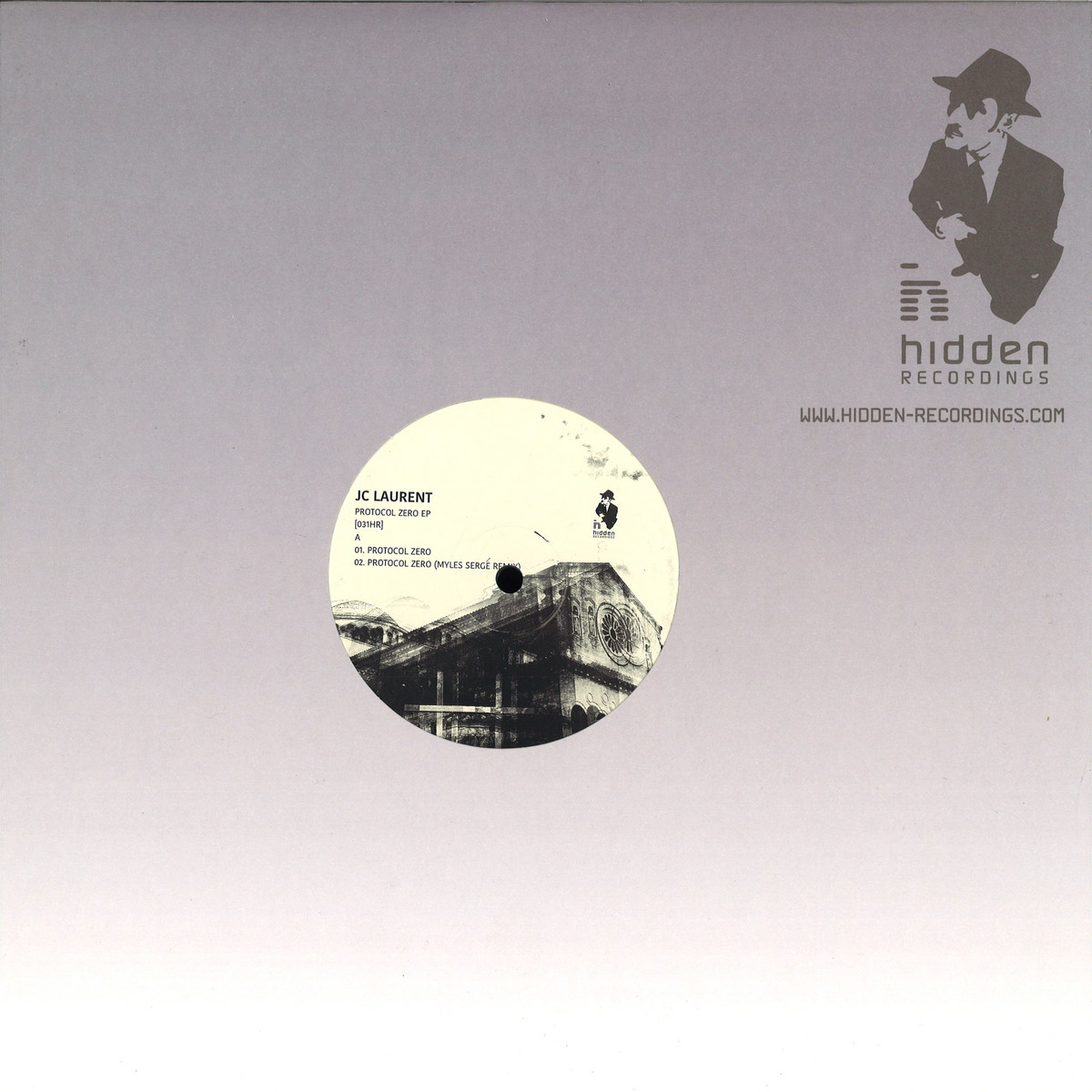JC Laurent - Protocol Zero EP (Hidden Recordings)