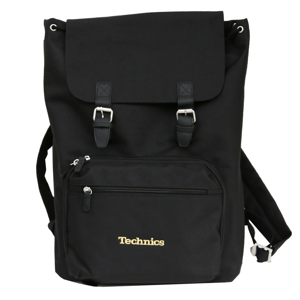Record Bag Technics Backpack Gold Dmc World Tvl G1