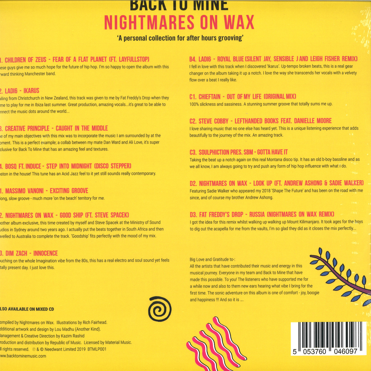 Nightmares On Wax - Back To Mine (Back To Mine) / Back to