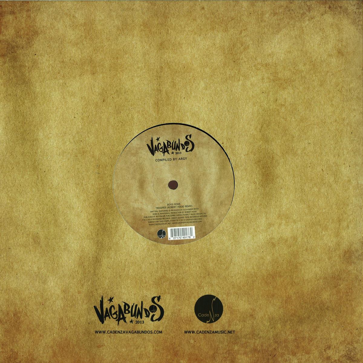Vagabundos Various Artists - Vagabundos 2013 Part 1 Vinyl S