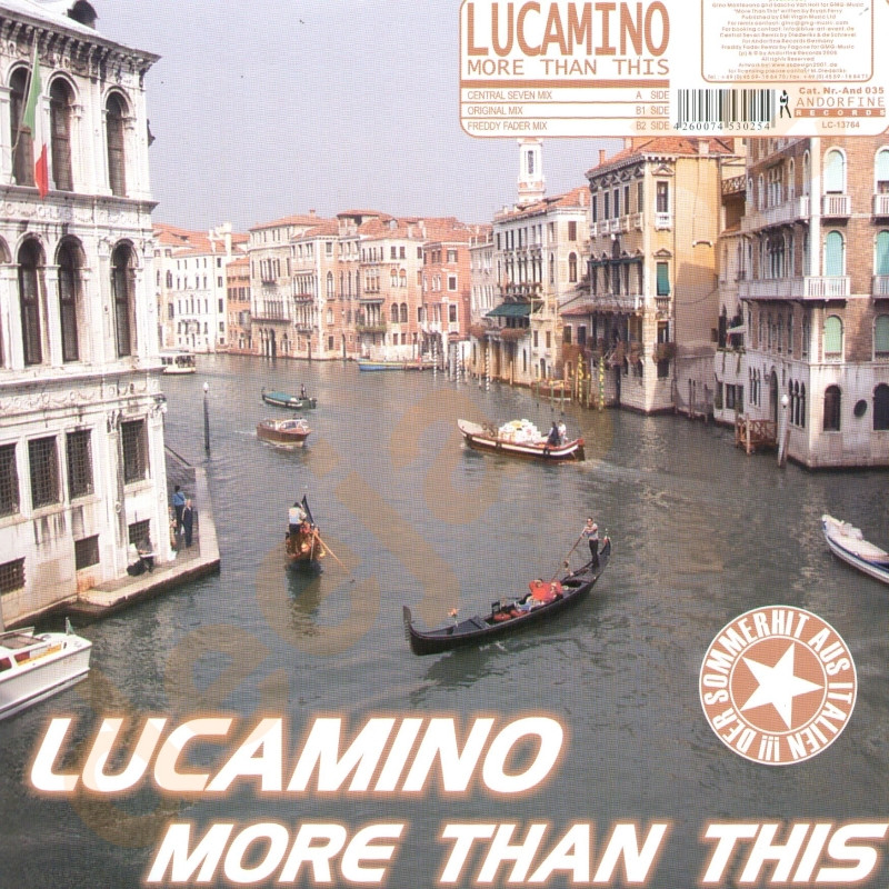 Lucamino - More Than This