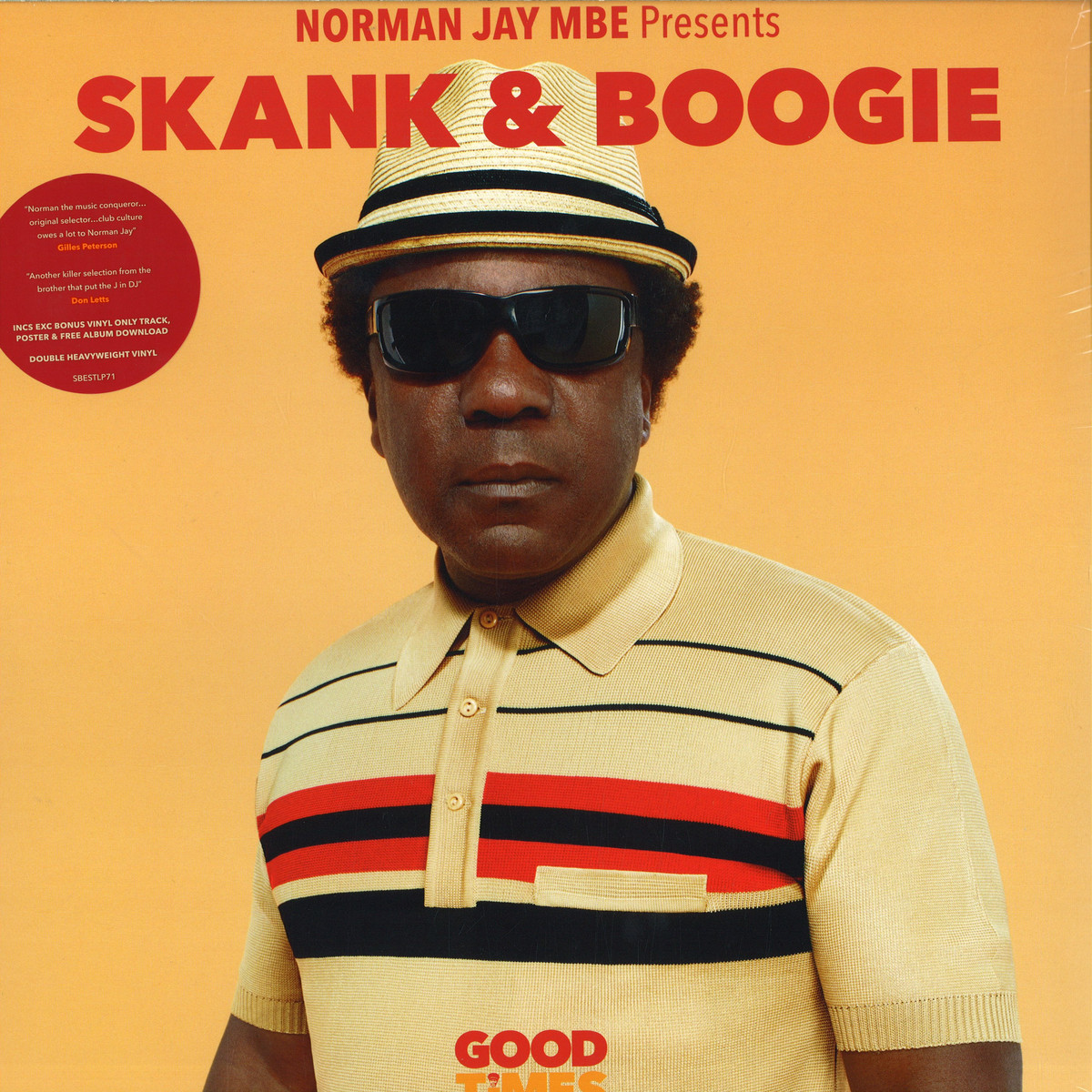 Various Artists Norman Jay Mbe Presents Skank Boogie Sunday Best Sbestlp71 Vinyl