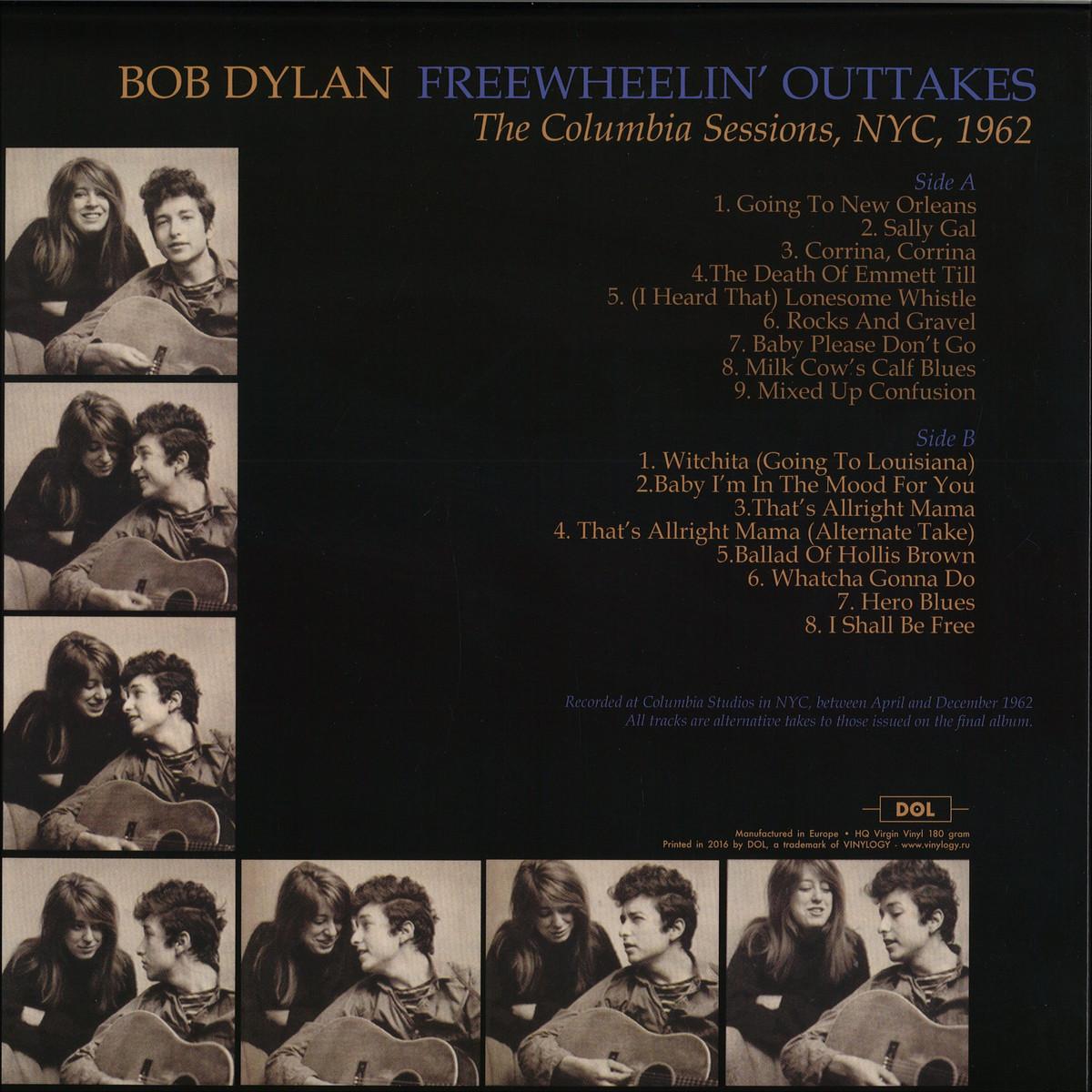Bob Dylan - Freewheelin' Outtakes / DOL DOS607HP - Vinyl