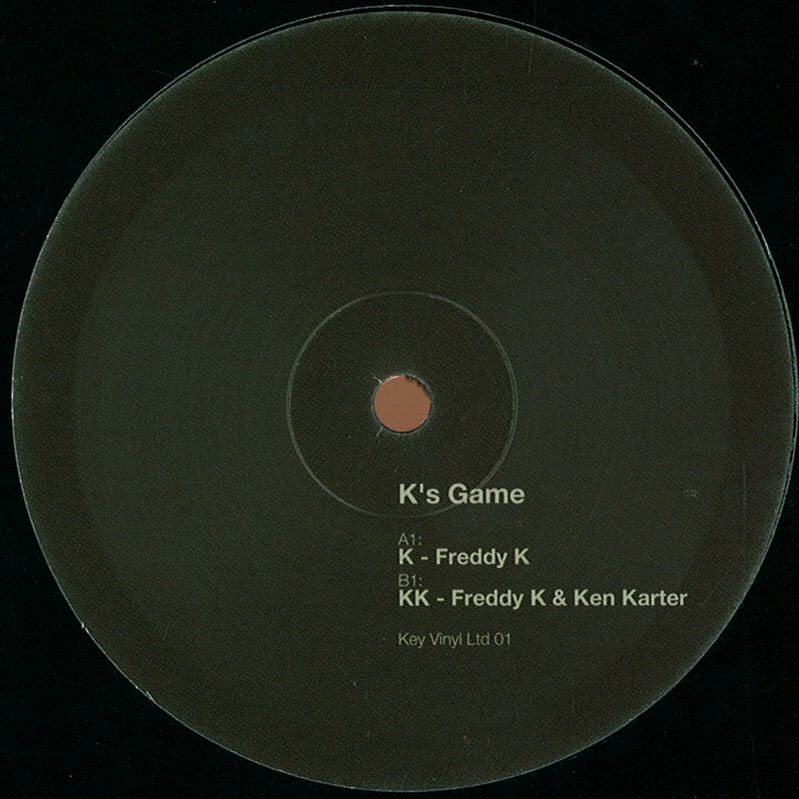 KEYVINYLLTD001- Vinyl Italien. Played and Supported by Kenny Larkin,