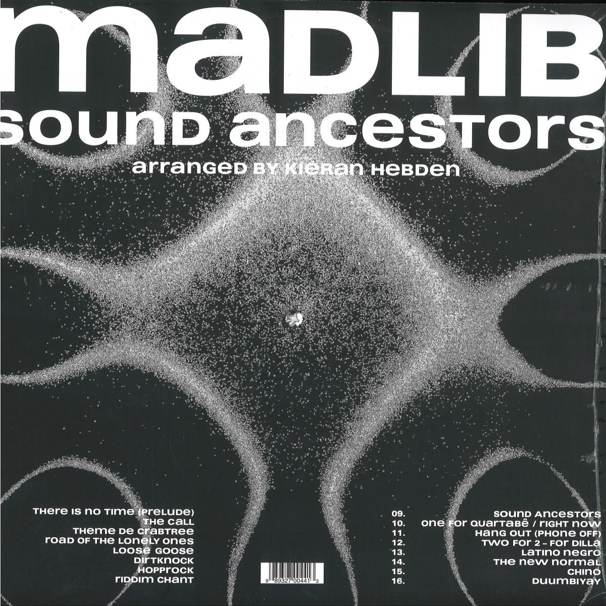 Madlib - Sound Ancestors (Arranged By Kieran Hebden) / Madlib Invasion MMS044LP - Vinyl