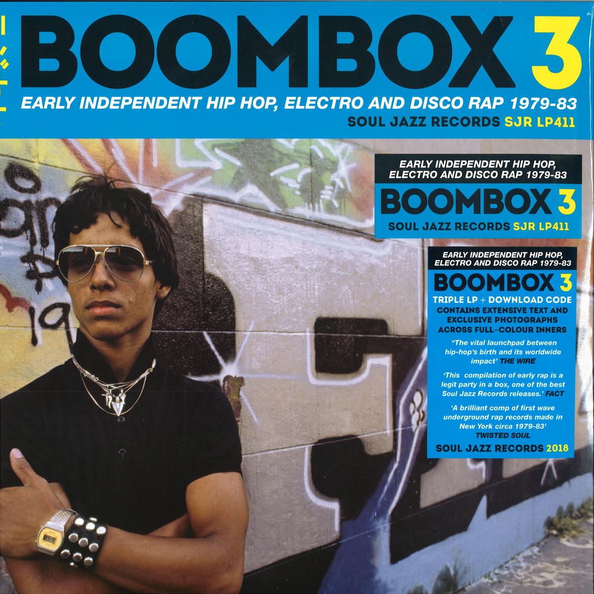 Soul Jazz Records Presents - BOOMBOX 3 / Soul Jazz Records