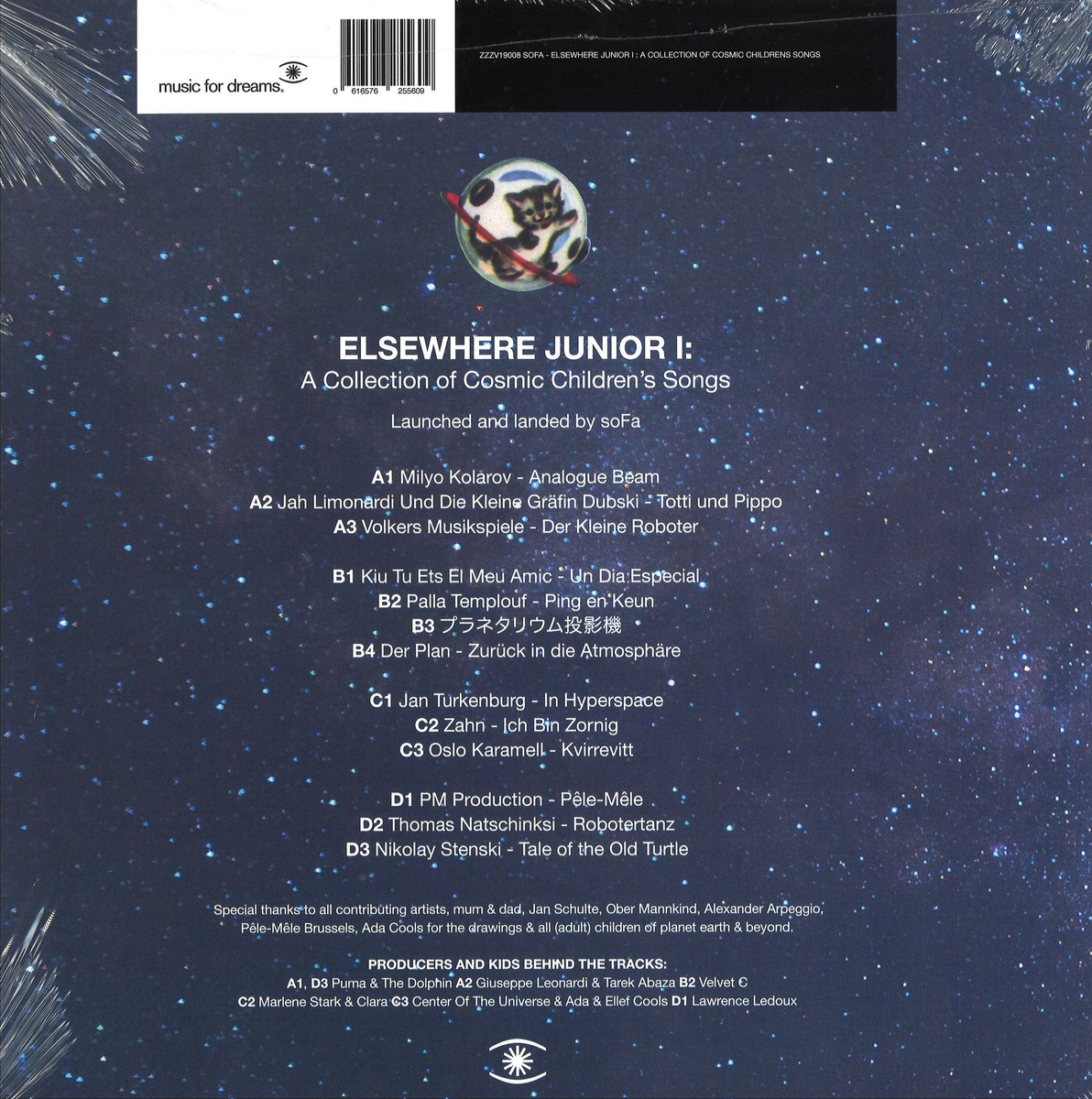 Www Ets Thomas Fr various artist - elsewhere junior i-a collection of cosmic