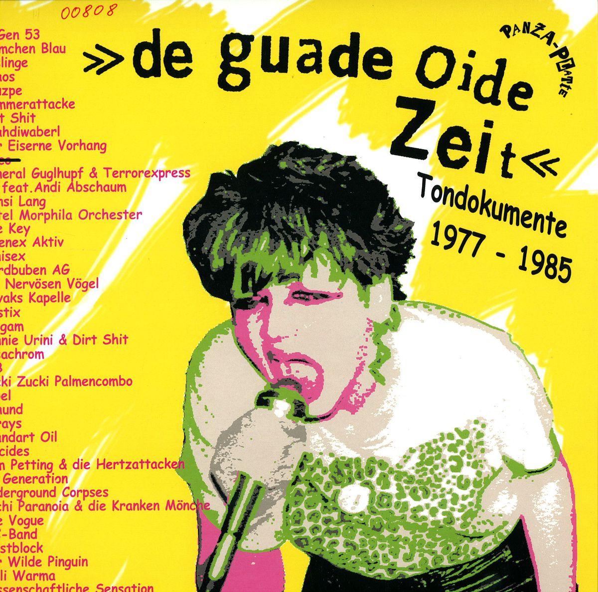 Panza Platte De Guade Oide Zeit Funk Soul Pp000 Vinyl