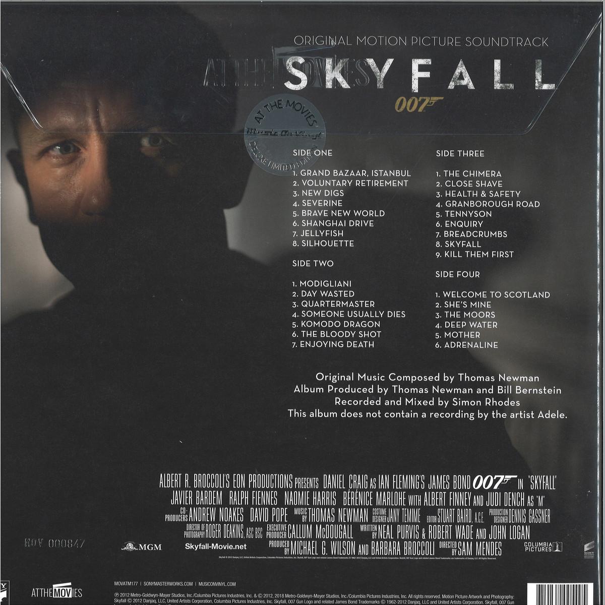 OST - Skyfall / Music On Vinyl MOVATM177C - Vinyl