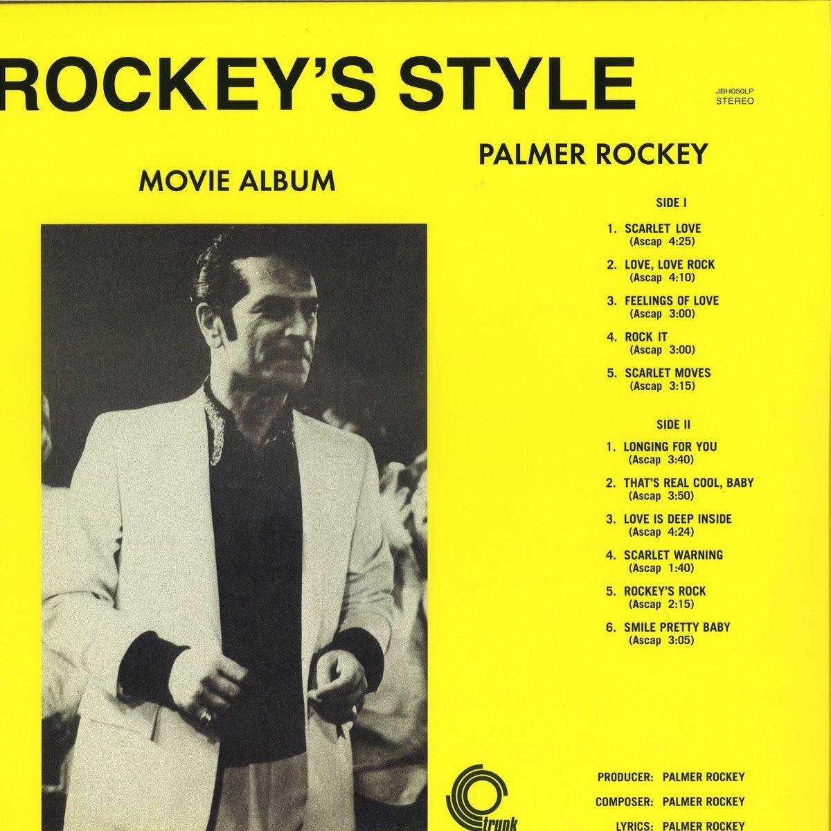 Palmer Rockey Rockeys Style