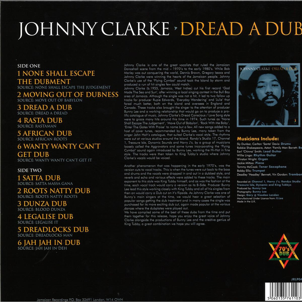 Johnny Clarke - Dread A Dub / Jamaican Recordings LP JRLP048 - Vinyl