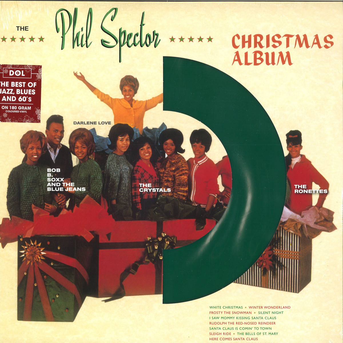 Darlene Love Christmas.Phil Spector A Christmas Gift For You Colour Vinyl Dol
