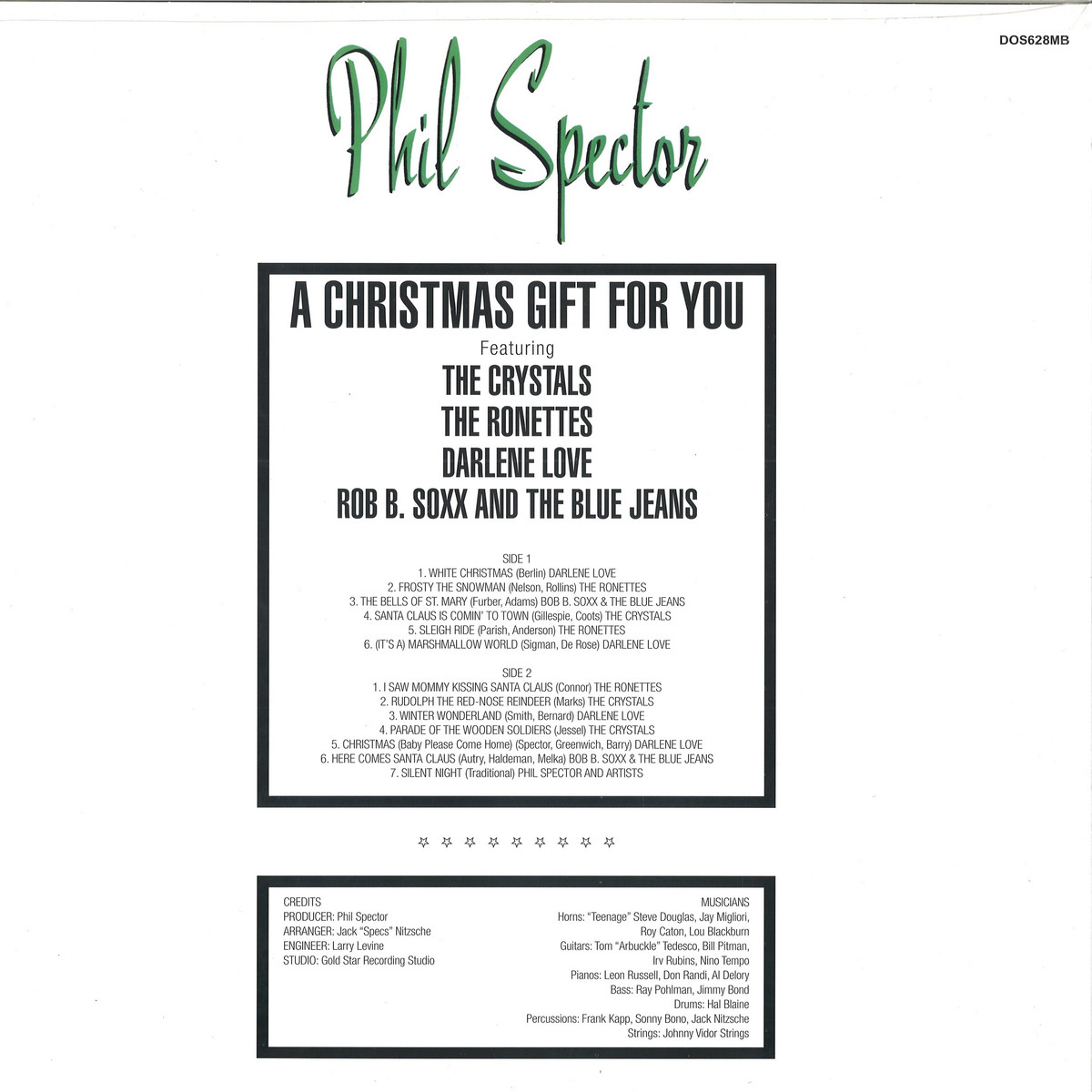 A Christmas Gift For You From Phil Spector.Phil Spector A Christmas Gift For You Colour Vinyl Dol