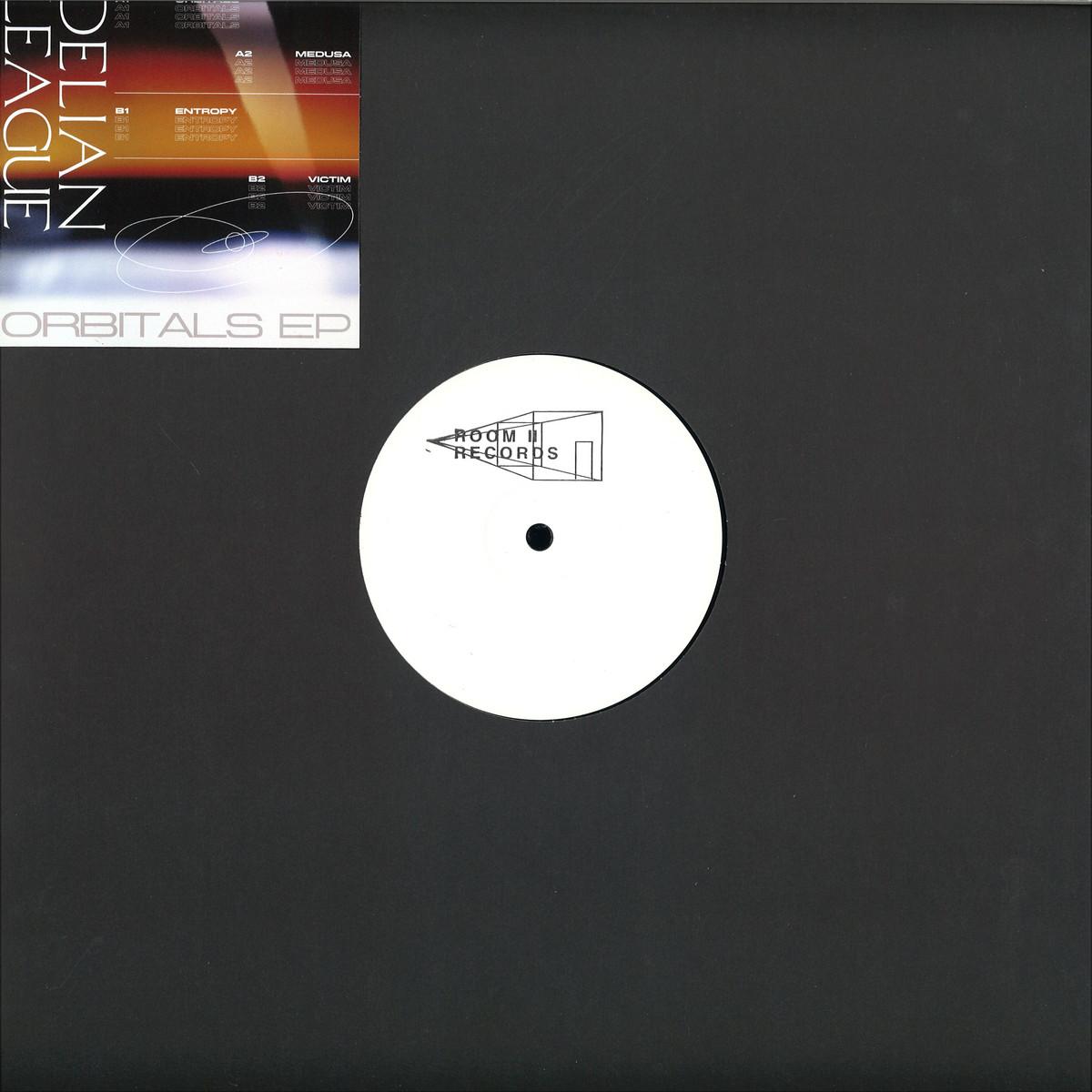 Delian League - Orbitals   Room II Records RIIR002 - Vinyl be4e2cbc37