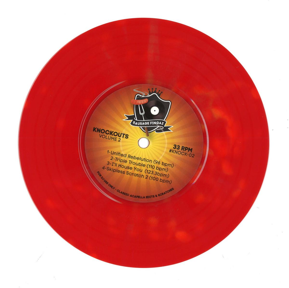 DJ Sausage Fingaz - Knockouts Volume 2 / KNOCKOUTS KNOCK-02