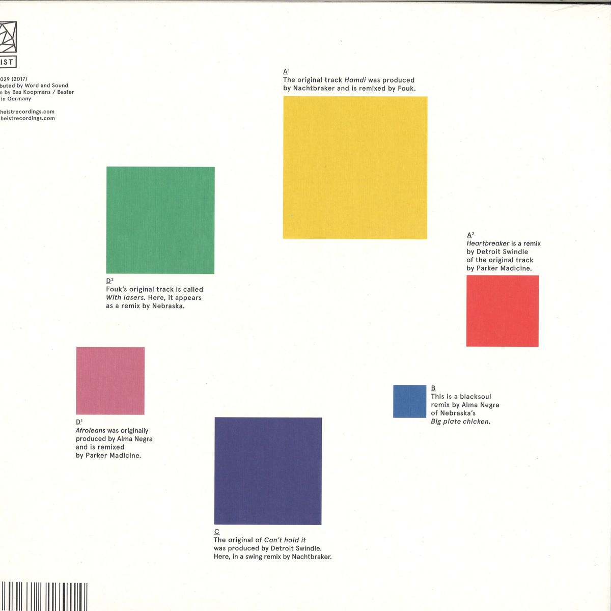 deejay de - Heist Recordings