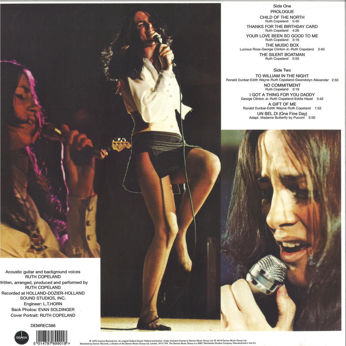 Ruth Copeland - Self Portrait / Demon Records DEMREC386 - Vinyl