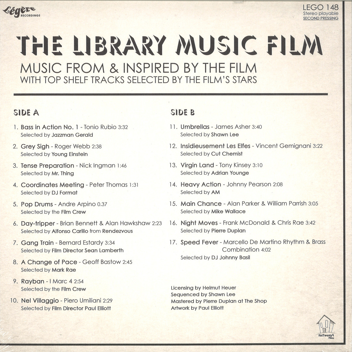 The Library Music Film - The Library Music Film - Music From And