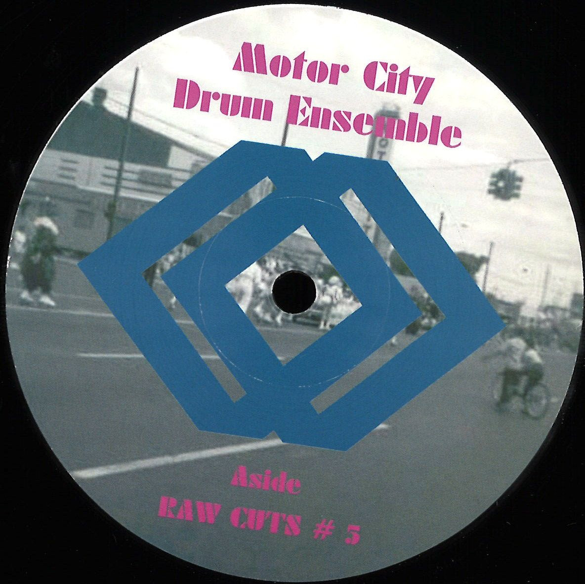 Motor City Drum Ensemble - Raw Cuts 5 / 6 / Motor City Drum Ensemble MCDE1205 - Vinyl