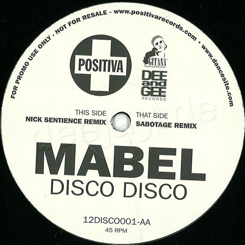 Disco Disco / Positiva Records 12DISCO001