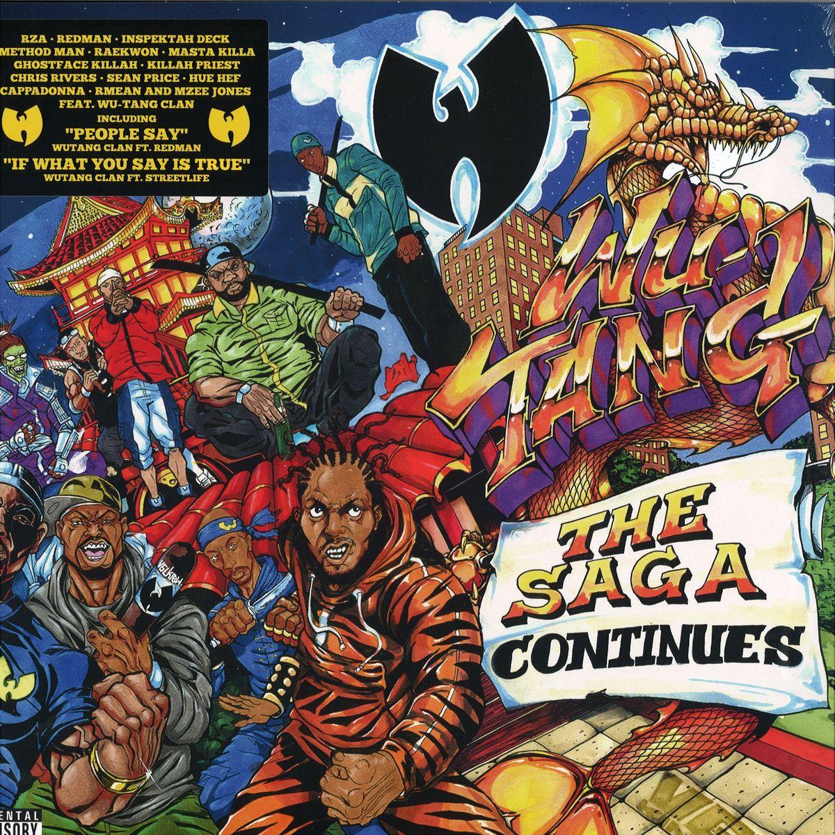 89b9e4ae Wu-Tang Clan - The Saga Continues / EOne 285368 - Vinyl