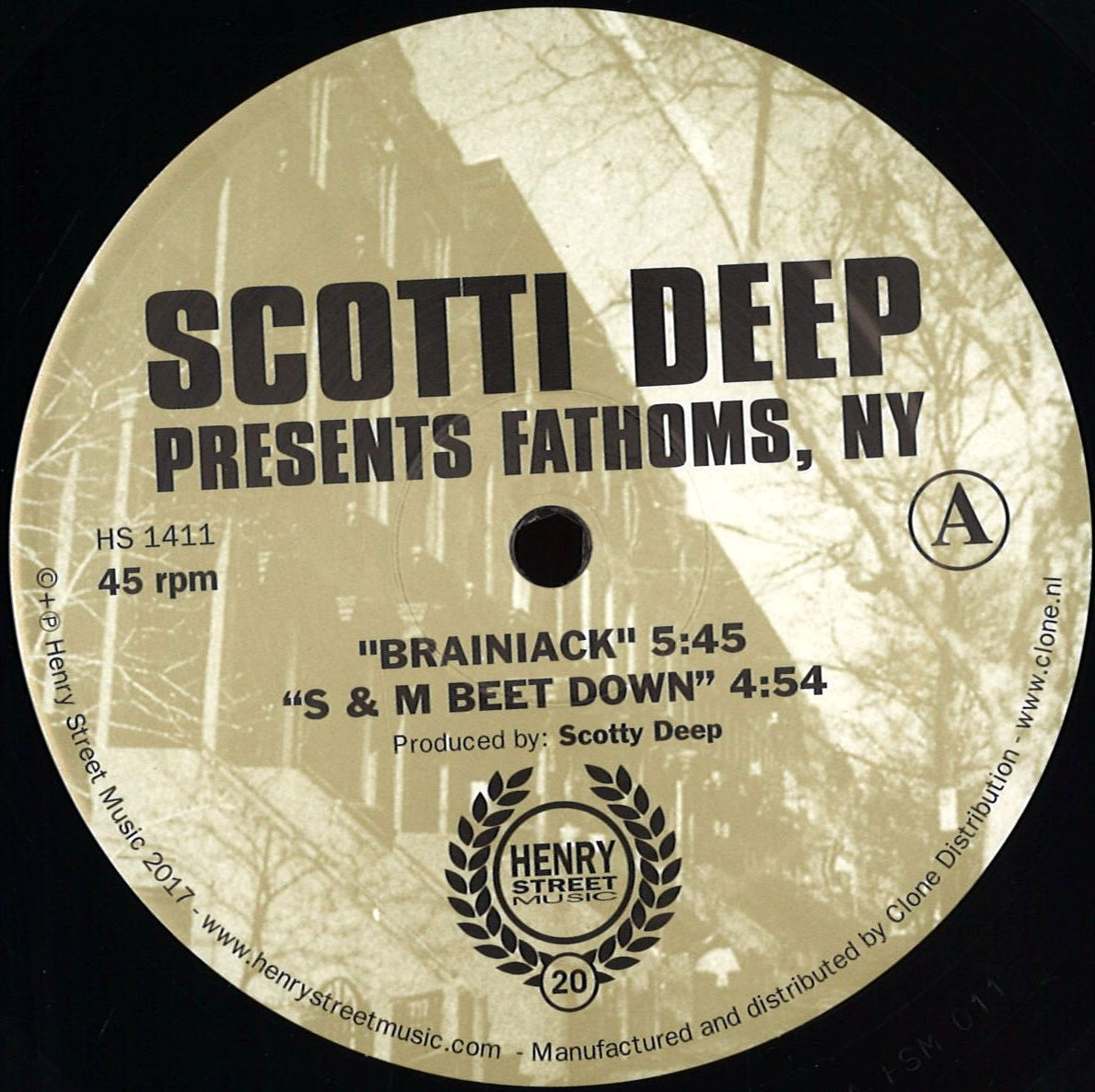 Scotti Deep - Presents Fathom, NY (Henry Street)