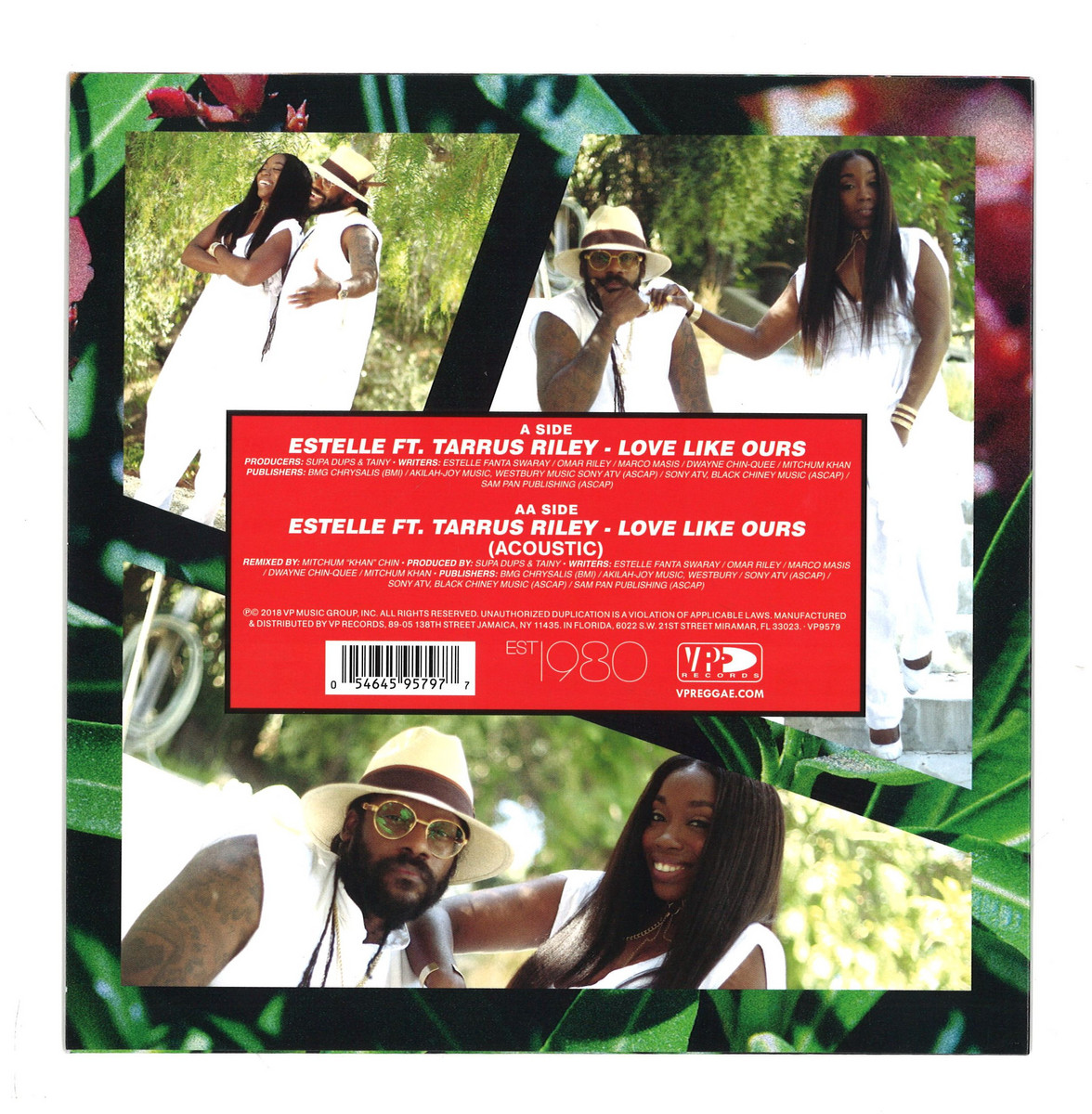 Estelle - Love Like Ours (Featuring Tarrus Riley) / VP Records