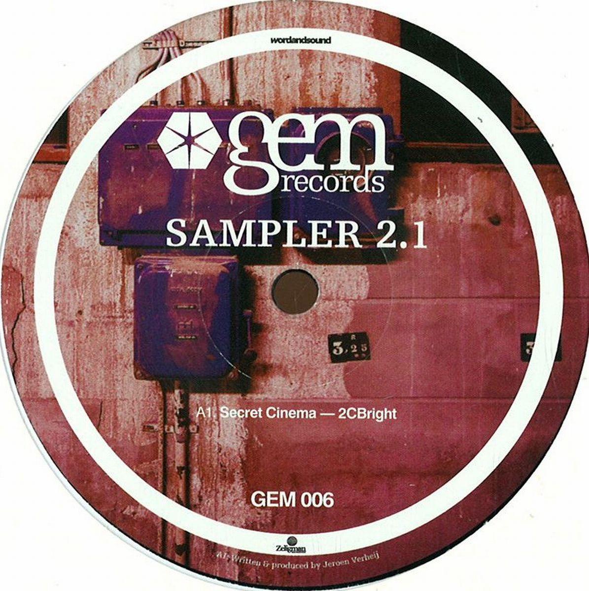 Gem Sampler - Sampler 2 1 / GEM RECORDS GEM006 - Vinyl