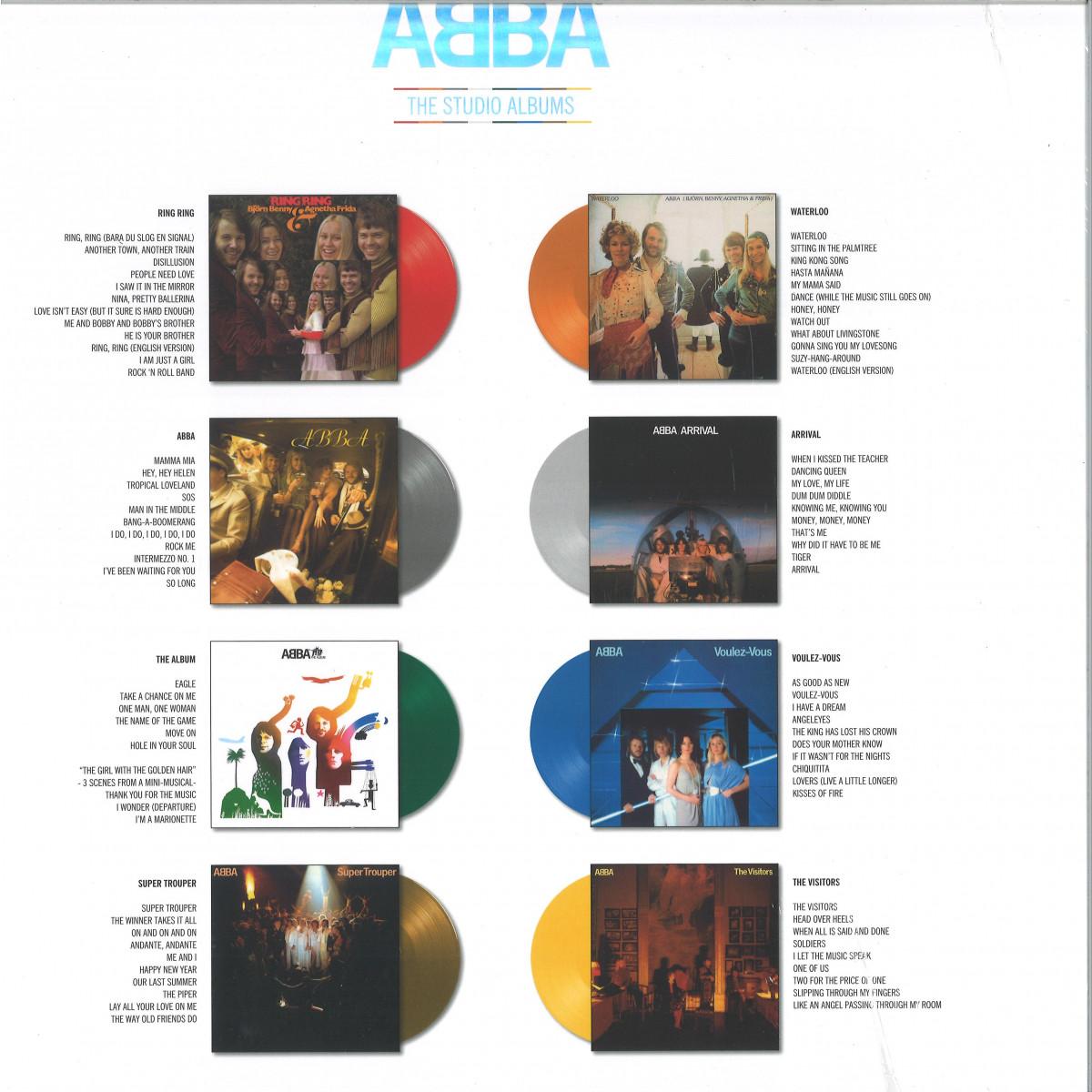 ABBA   The Studio Albums / Polydor 20   Vinyl